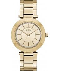 DKNY NY2286 Ladies stanhope forgyldt armbånd ur