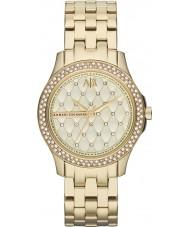 Armani Exchange AX5216 Ladies forgyldt armbånd kjole ur