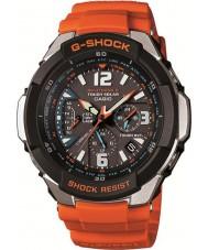 Casio GW-3000M-4AER Mens g-shock radiostyret appelsin soldrevne ur