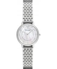 Emporio Armani AR2511 Ladies kjole sølv stållænke ur