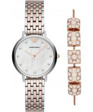 Emporio Armani AR80016 Ladies watch gave sæt