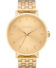 Nixon A1090-502 Ladies arrow alle guld stållænke ur