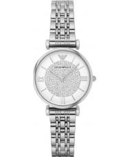 Emporio Armani AR1925 Ladies sølv stål dress watch