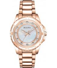 Bulova 98S141 Ladies steg forgyldt armbånd ur