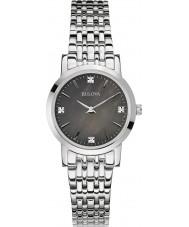Bulova 96S148 Ladies diamant galleri sølv stållænke ur