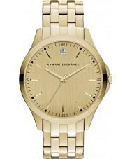 Armani Exchange AX2167 Herre kjole forgyldt armbånd ur