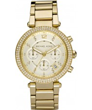 Michael Kors MK5354 Ladies blair forgyldt kronograf ur