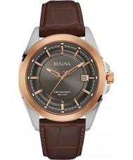 Bulova 98B267 Mens precisionist brun læder ur