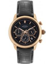 Rotary GS02879-04 Herre ure monaco sort kronograf ur