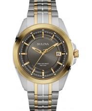 Bulova 98B273 Mens precisionist to tone stållænke ur