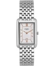 Rotary LB02685-02 Ladies Ure hvid sølv ur