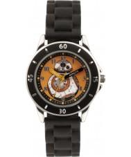 Disney SWM3046 Drenge bb-8 ur med sort silikone rem