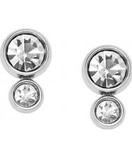 Fossil JF02526040 Ladies sølv stål øreringe