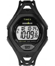 Timex TW5M10400 MENS ironman slanke sort resin rem ur