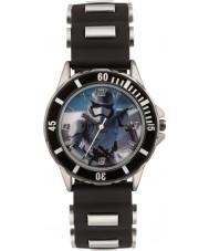 Disney SWM3076 Drenge storm trooper ur med sort silikone rem