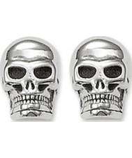 Thomas Sabo H1731-001-12 Sølv kraniet stud øreringe