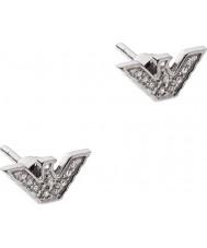 Emporio Armani EG3027040 Ladies sterling sølv tone øreringe