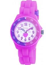 Tikkers TK0003 Kids pink gummi ur