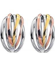 Calvin Klein KJ1RDE300100 Ladies sprød tre-farvet mix hoop øreringe