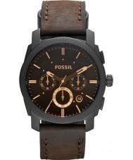 Fossil FS4656 Mens maskine brunt læder kronograf ur