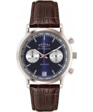 Rotary GS90130-05 Mens les originales sport hævner blå brun kronograf ur