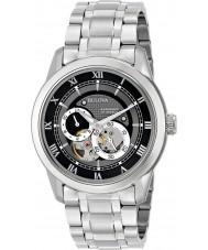 Bulova 96A119 Mens automatisk sølv stållænke ur