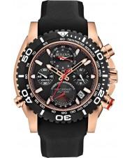 Bulova 98B211 Mens precisionist sort kronograf ur