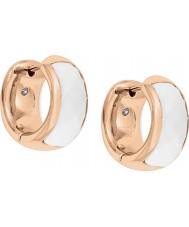 Fossil JF01120791 Ladies klassikere rosa guld stål øreringe