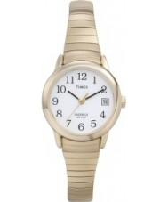Timex T2H351 Ladies hvidguld let læser ur