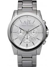 Armani Exchange AX2058 Herre sølv stål kronograf dress watch