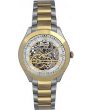 Rotary GB90515-10 Mens les originales jura sølv guld automatisk ur