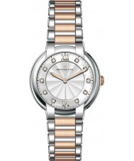 Dreyfuss and Co DLB00062-D-01 Ladies 1974 diamant sæt to tone ur