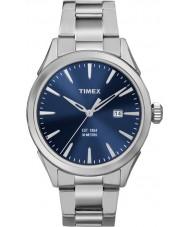Timex TW2P96800 Mens Chesapeake sølv stållænke ur