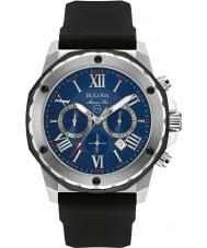 Bulova 98B258 Mens marine stjerne sort kronograf ur
