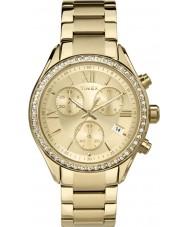 Timex TW2P66900 Ladies miami guld kronograf ur