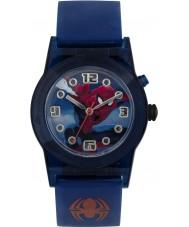 Disney SPD3425 Drenge undre ultimative spiderman blinkende ur med blå silikone rem