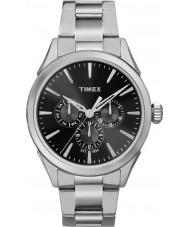 Timex TW2P97000 Mens Chesapeake sølv stållænke ur