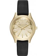 Karl Lagerfeld KL1617 Ladies Belleville sort læderrem ur