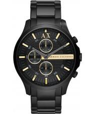 Armani Exchange AX2164 Mens alle sorte kronograf kjole ur