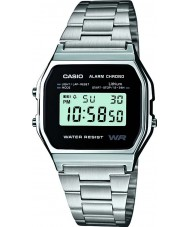 Casio A158WEA-1EF Mens kollektion ur