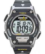 Timex T5K195 Mens grå ironman chok modstå 30 lap sport ur