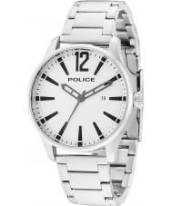 Police 14764JS-04M Mens dallas sølv stållænke ur