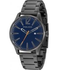 Police 14764JSU-03M Mens dallas grå stållænke ur