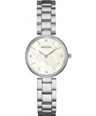 Bulova 96S159 Ladies diamant galleri sølv stållænke ur