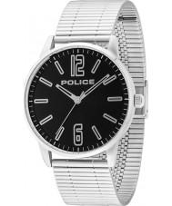 Police 14765JS-02M Mens Esquire sølv stållænke ur