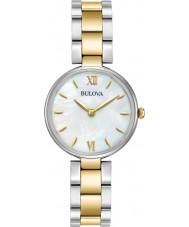 Bulova 98L226 Ladies dress to tone guldarmbånd ur