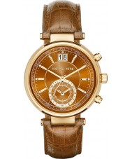 Michael Kors MK2424 Ladies Sawyer kronograf whisky læderrem ur