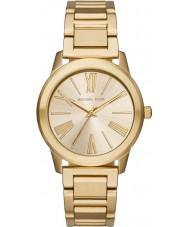 Michael Kors MK3490 Ladies Hartman guld stållænke ur