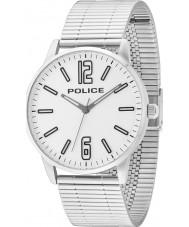 Police 14765JS-04M Mens Esquire sølv stållænke ur