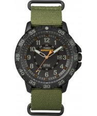 Timex TW4B03600 Mens ekspeditionen Gallatin grøn nylon rem ur